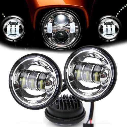 LED 12W Motorcycles Bike Driving Spot Lights Fog Lamps Headlights TP Motorcycle Turn Signal Light
