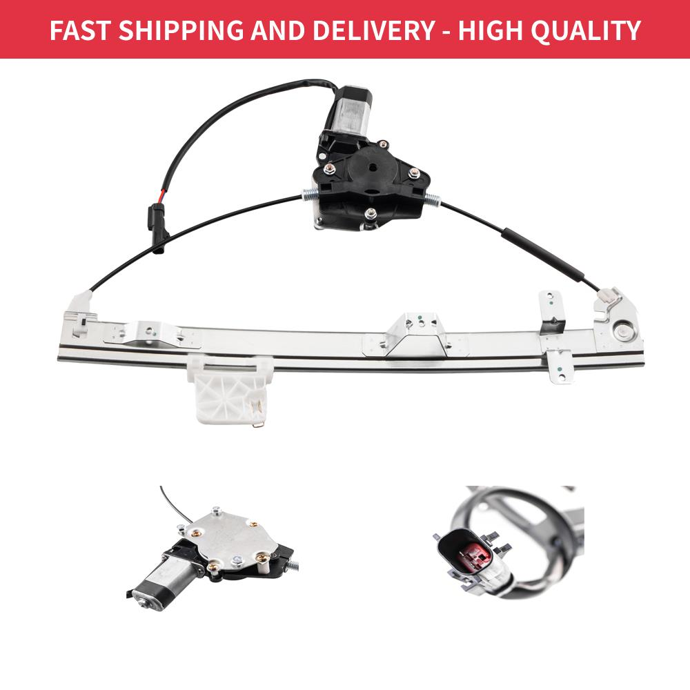 Rear Right Side Power Window Motor and Regulator Assembly Replacement for 2001 2002 2003 2004 Jeep Grand Cherokee
