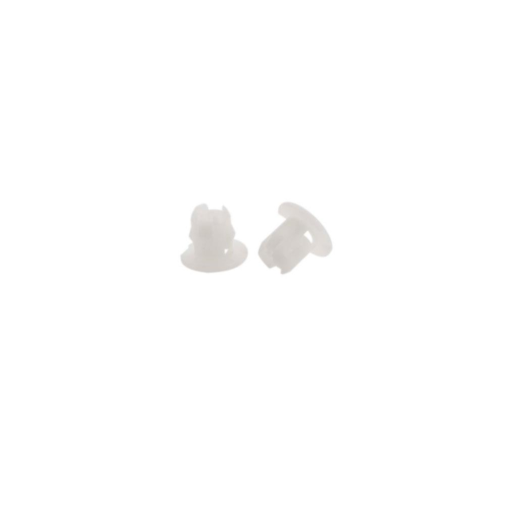 10x Plastic ID Headlight Grommet Nut FastenerRetainer Clip For Mitsubishi