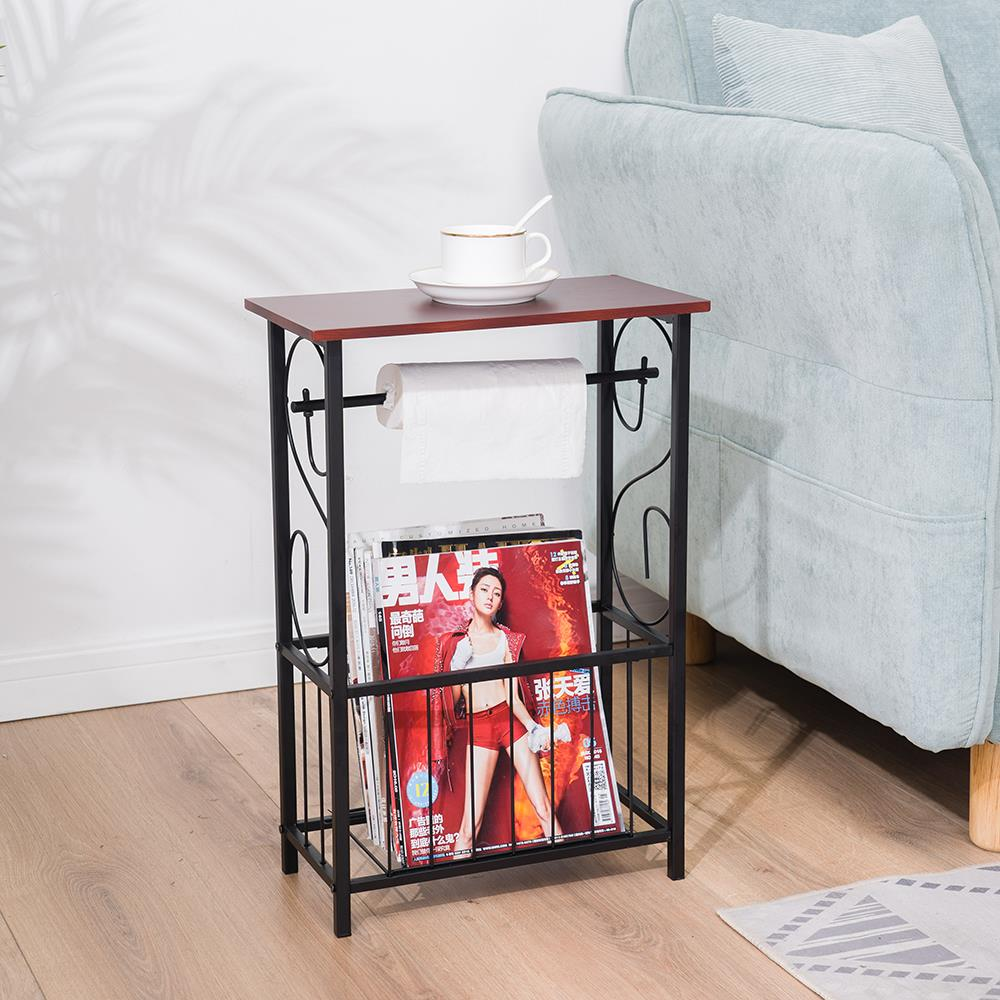 Magazine Toilet Paper Holder Small Bathroom Table Magazine Rack Stand Organizer Ebay