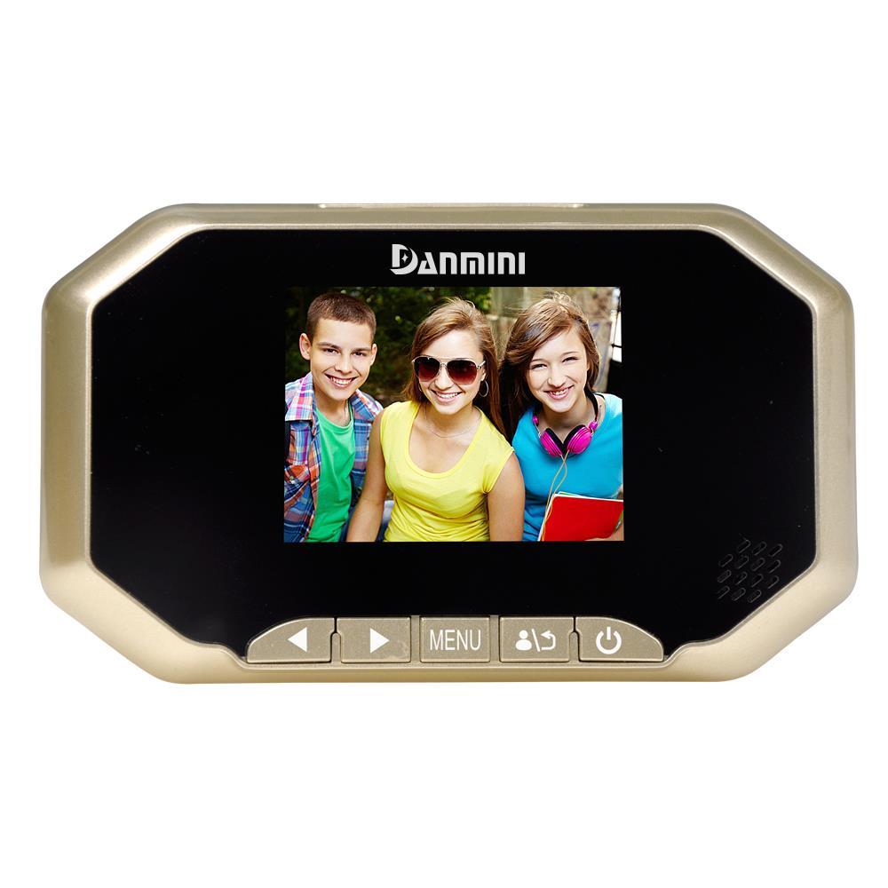 """Danmini 3/"""" Digital Screen Viewer Door Detection Video Camera with Night Vision"""