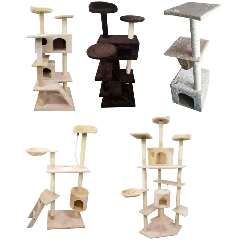 Cat Tree Tower Condo Furniture Scratch Post Kitty Pet House Toy New Quality ++