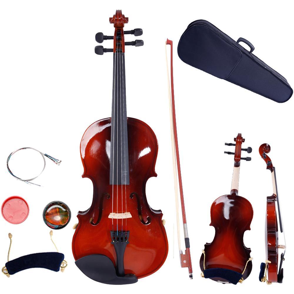 Fiddle Violin Ebony Wood 4//4 Full Size Violin Chinrest Chin Rest Violin 14 Viola