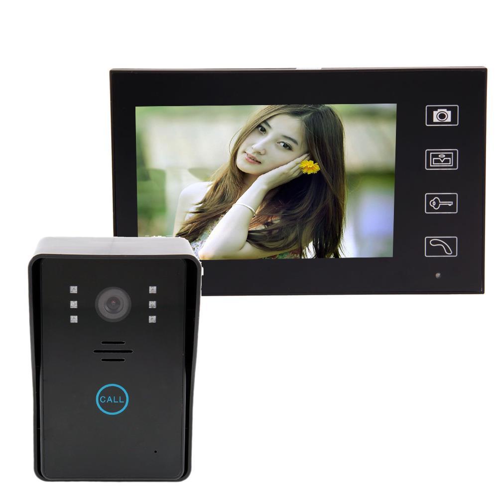 """7"""" 2.4G Wireless Video Door Phone Doorbell Intercom Home ..."""