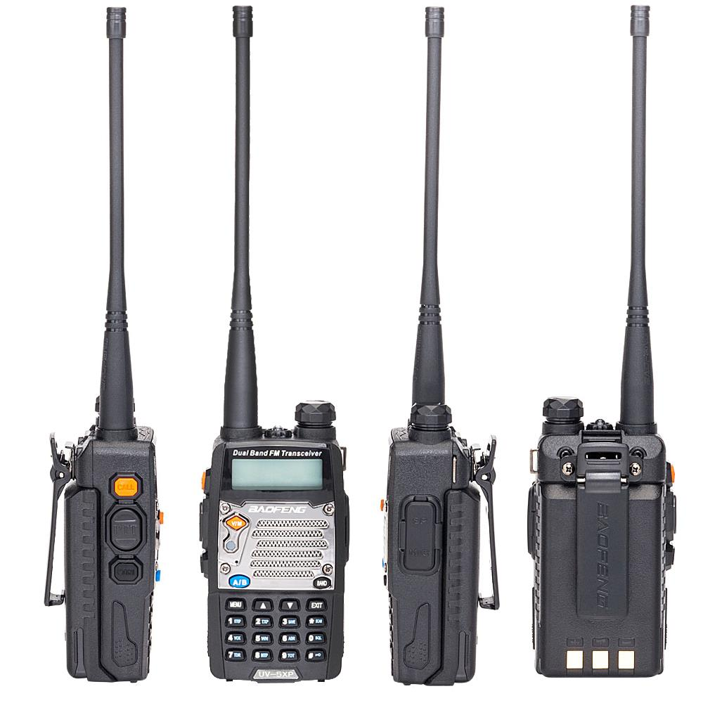 Baofeng UV-5XP V//UHF 400-520MHz Dual Band Long Range Two Way Radio Walkie Talkie