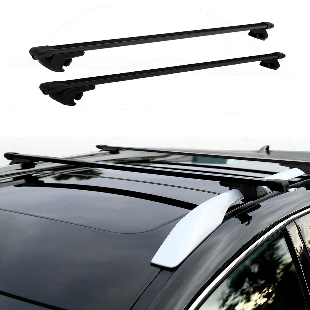 "48"" Universal Steel Roof Top Rail Rack Car Cross Bars ..."