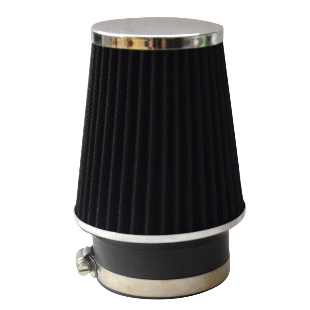 "3.5/"" BLUE Narrow High Flow Cold Air Intake Cone Replacement Dry Filter"