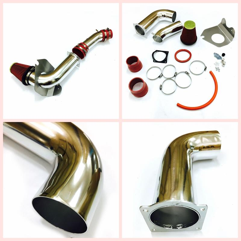RED COLD AIR INTAKE KIT FIT 1999-2004 FORD MUSTANG 3.8 3.8L BASE V6 ENGINE