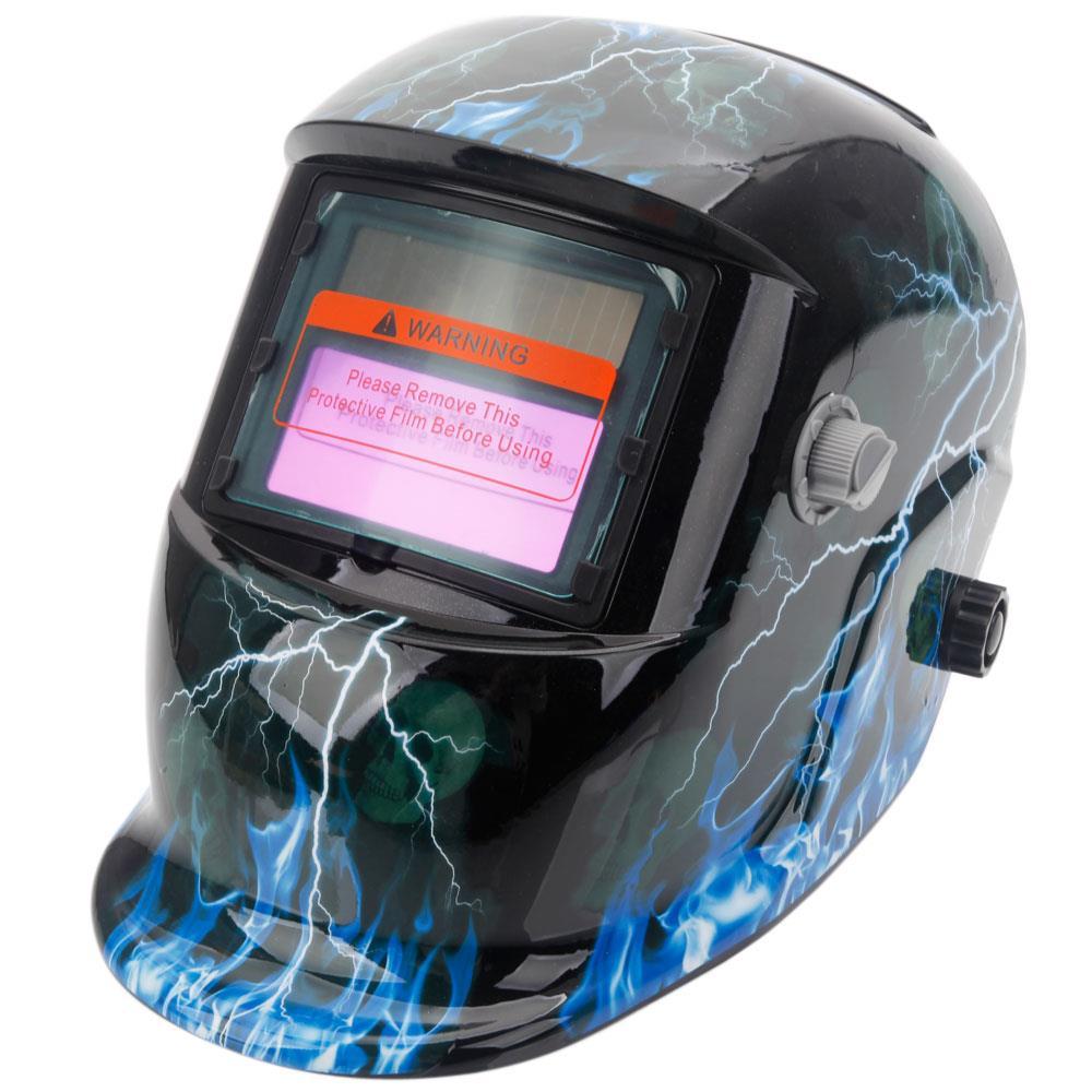 Multicoloured Auto Darkening Welding Helmet Grinding Function Welders Mask Arc