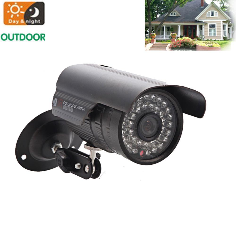 Wide Angle 1300TVL HD Home Dome Outdoor Metal Security CCTV Camera IR-Cut NTSC