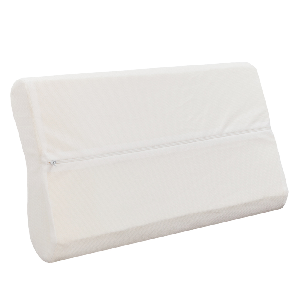 Memory Foam Sleep Pillow Contour Cervical Orthopedic Neck Support Breath Pillow,