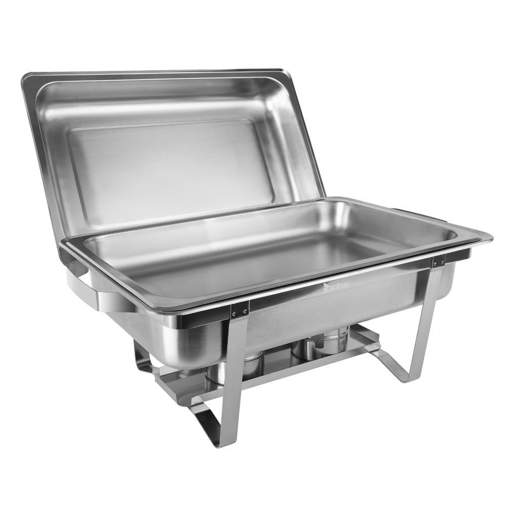 Chafing Dish 9L Speisewärmer GN1//1 GN1//3 GN2//3 Wärmer Warmhaltebehälter
