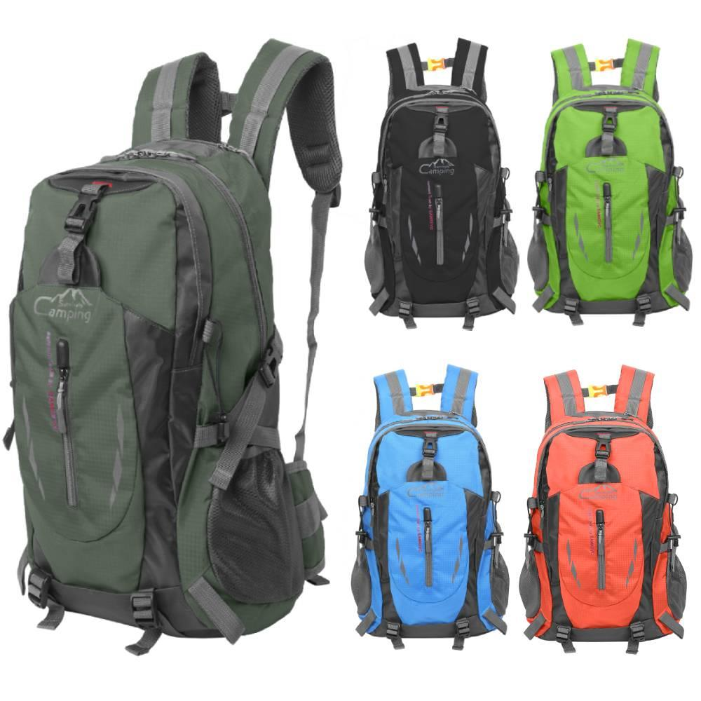 Free Knight  35L Outdoor Sports Travel Water Repellent Nylon Backpack Army Green