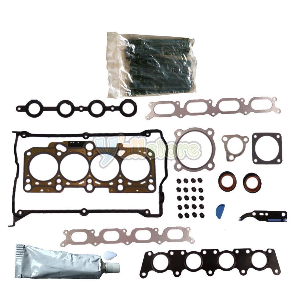 97-01 Audi A4 Volkswagen Passat 1.8L Turbo DOHC Head Gasket Set Bolt Kit AEB AWM