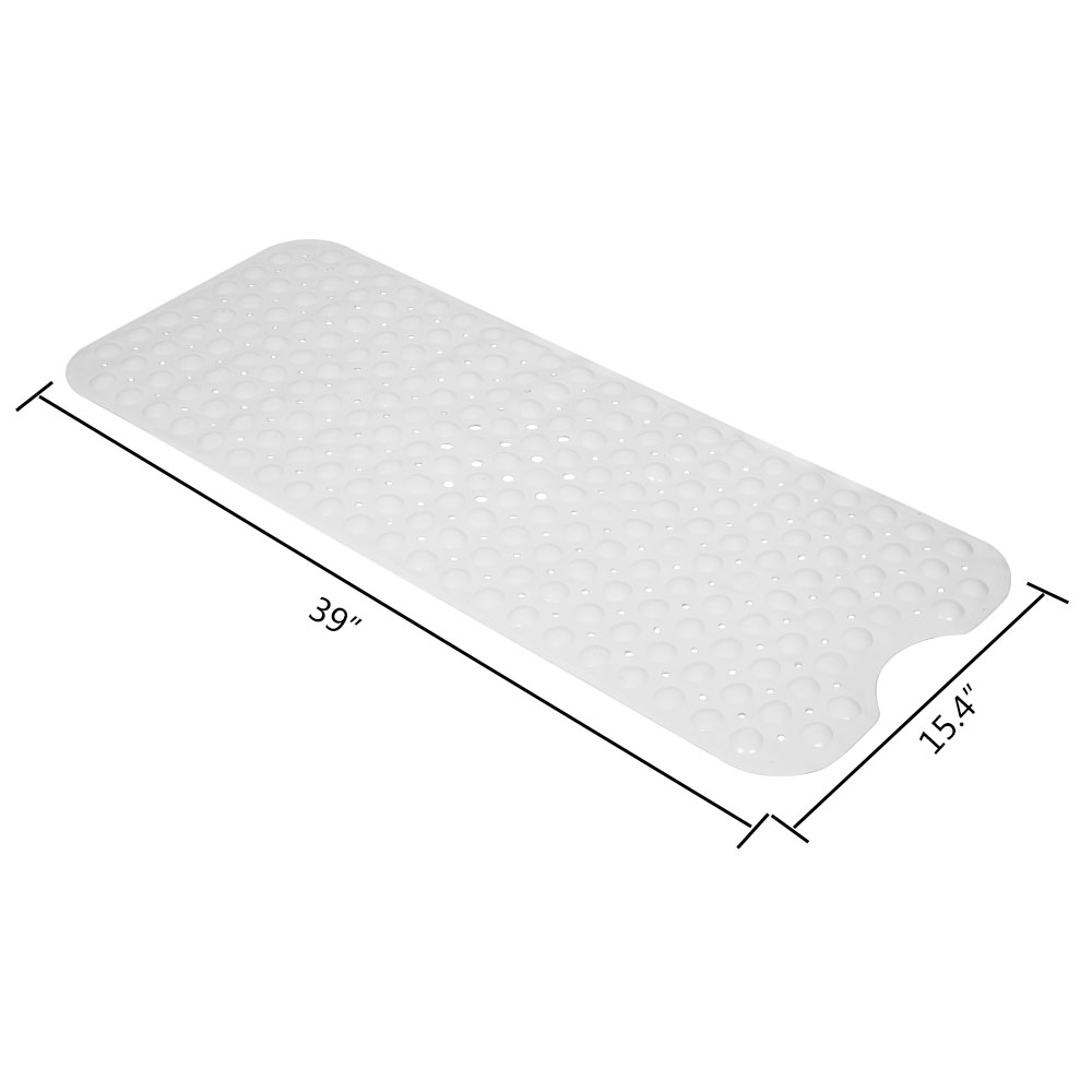 Soft Reliable Slip Resistance For Tub Skid Resist Mat Large Rubber Safety Mat