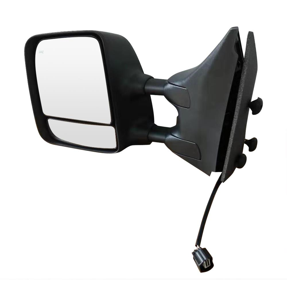 Side View Mirror Power Heated Towing Black Driver Left LH for 04-15 Nissan Titan