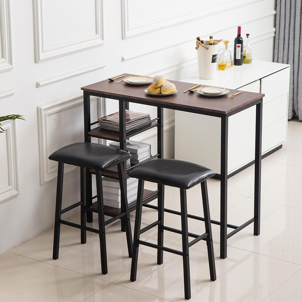 Hot Table Set 12 Piece Bar Stools Dining Kitchen Furniture Counter ...