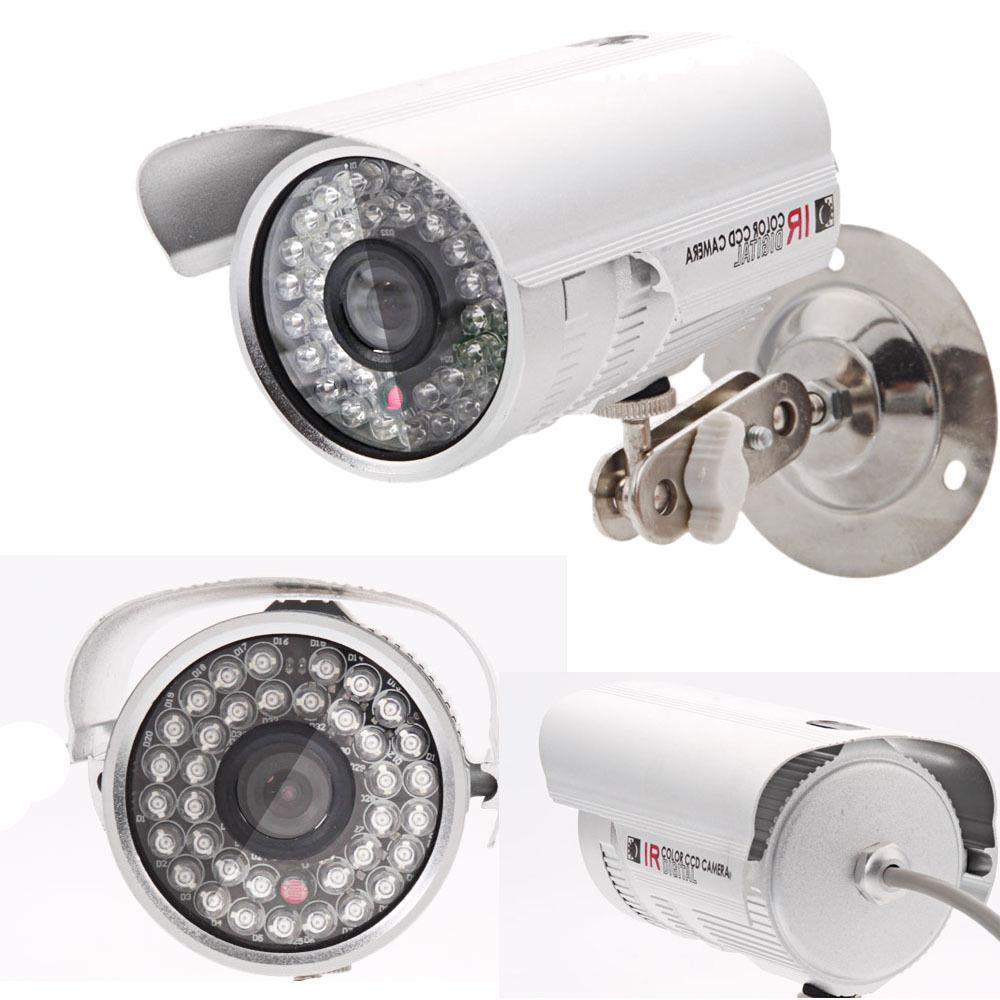 "2X HD1080P 1200TVL 1//3/"" CMOS Color Outdoor Security CCTV Camera IR-CUT /& Bracket"