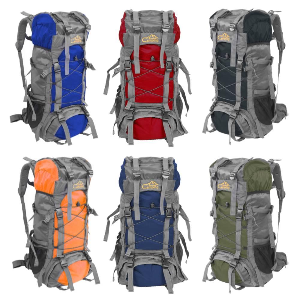 60L Large Waterproof Outdoor Camping Hiking Backpack Travel Trekking Pack