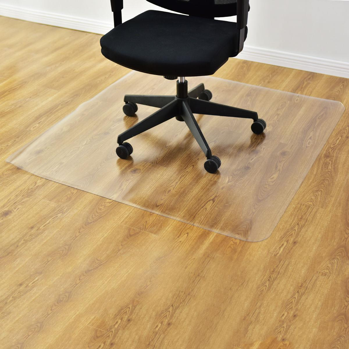 36 X48 Hard Wood Floor Home Office Pvc Floor Mat Square Office Rolling Chair 651519253342 Ebay