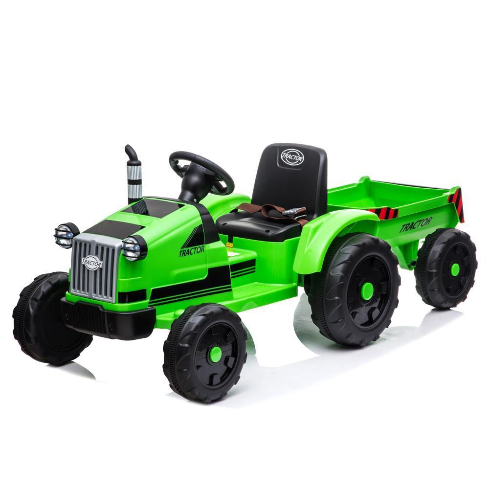 GREEN 12V Electric Kids Ride On Tractor Car MP3 with ...