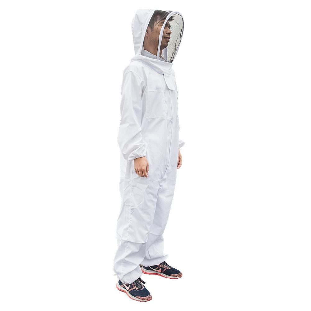 Beekeeping Jacket Protective Veil Smock Bee Coat Suit Clothes Breathable XL