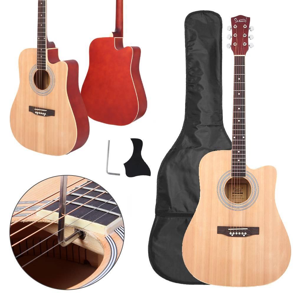 Guitar for Children Beginners 21 Acoustic Guitar Pick String Guitar for Beginners Entertainment Guitar Wood Color