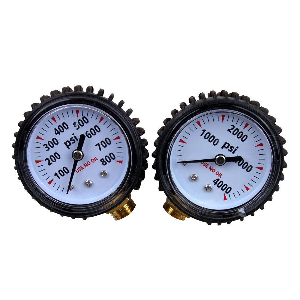 Nitrogen Regulator Gauge Pressure Equipment Brass Inlet Connection OW