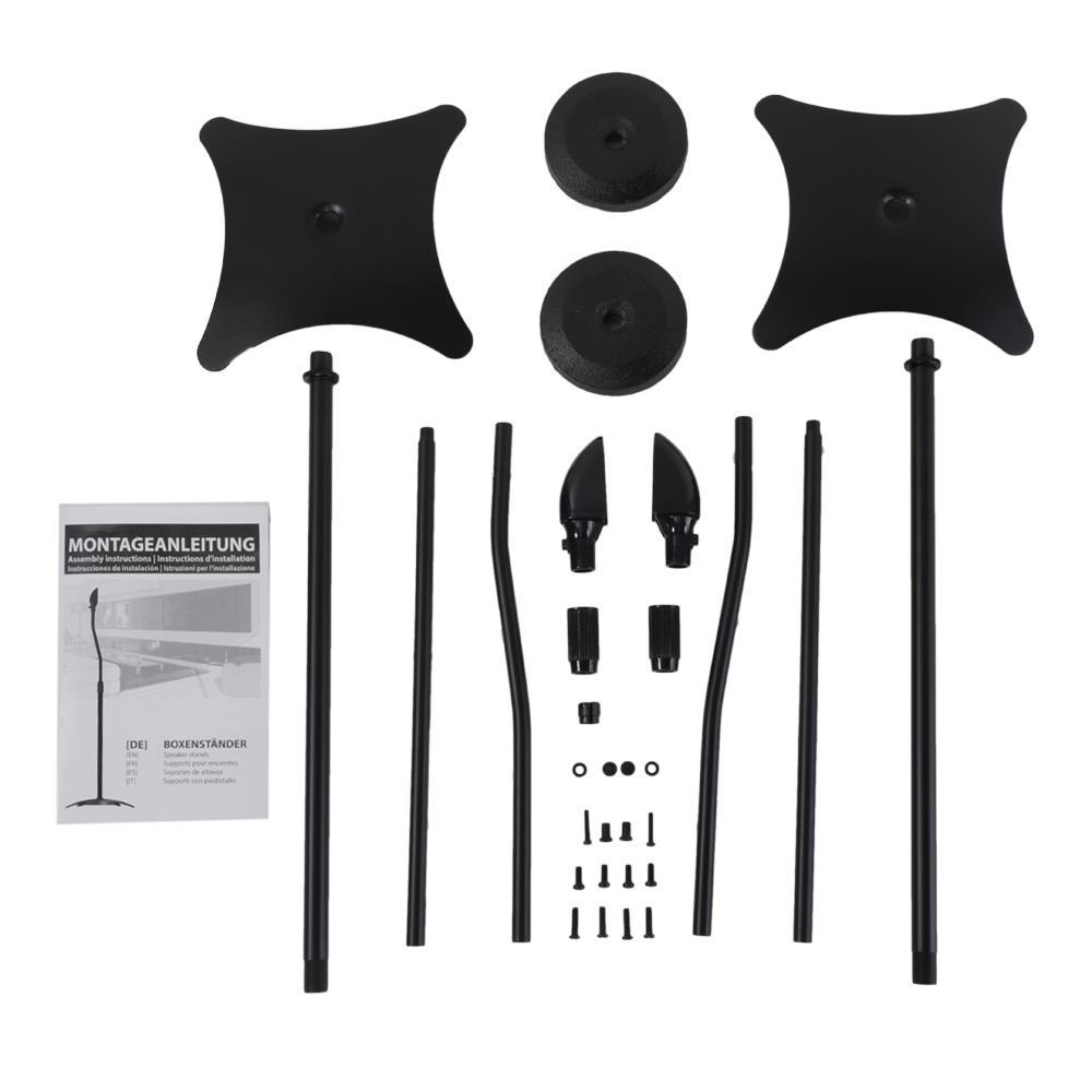 Soundrise Pro Desktop Speaker Stands International Free Shipping Black//pair