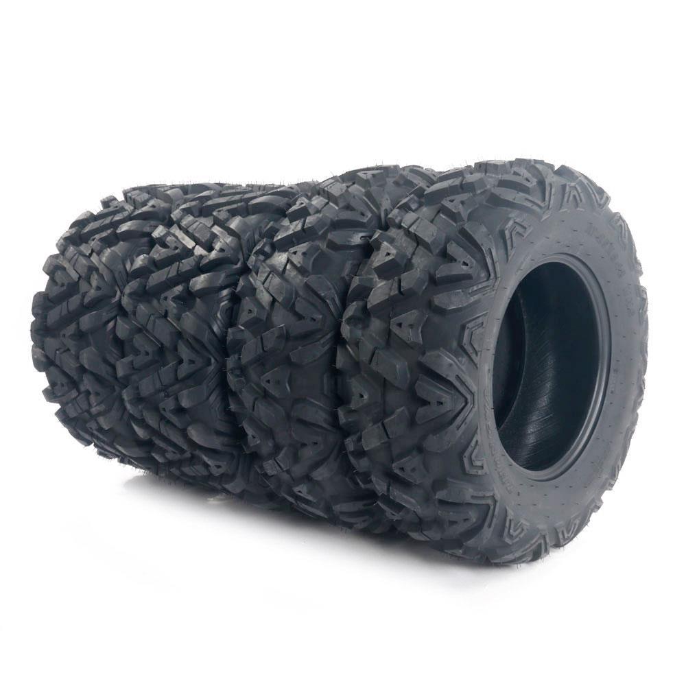 MILLION PARTS 2 ATV//UTV Tires 25x8-12 25x8x12 Front 6 Ply Rated