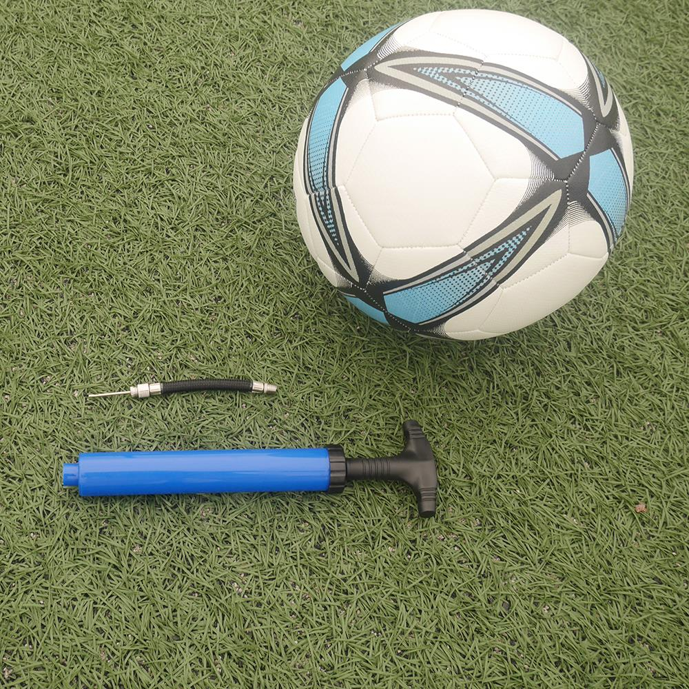 "10/"" 12/"" Hand Air Pump Ball Inflator for Basketball Net Football Soccer Needle"