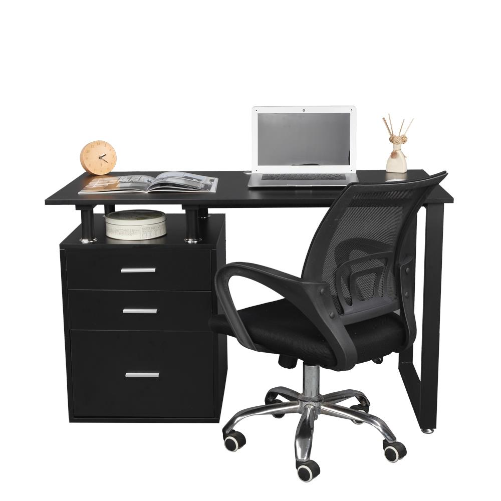 Details about Computer Desk with File Drawer PC Laptop Table Study  Workstation Home Office
