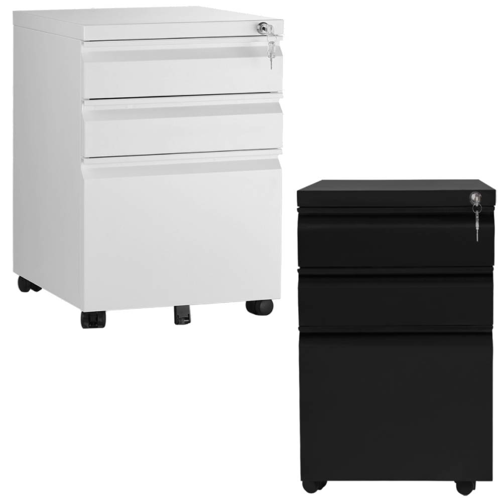 Details about 35 Drawer Mobile File Cabinet Lock Metal Filing Cabinet  Storage Organizer Home