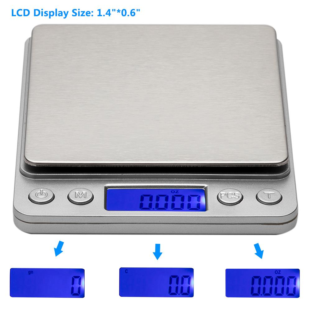 Digital Scale 200g x 0.01g Pocket Size For Jewelry Gold Silver Coin Grain Herb