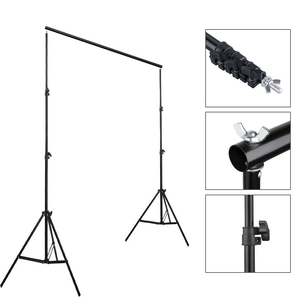 Kshioe 10ft Adjustable Background Support Stand Photo Crossbar Kit Photography Ebay