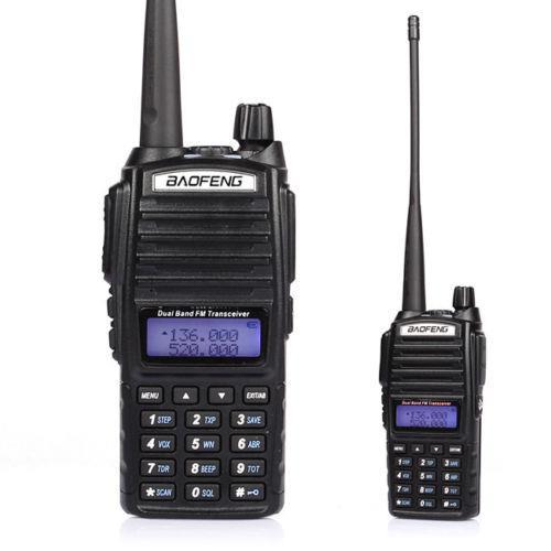 X4 Baofeng BF888S Single-band UHF//VHF Radio 5W FM Ham 2 Way Radio Walkie Talkie