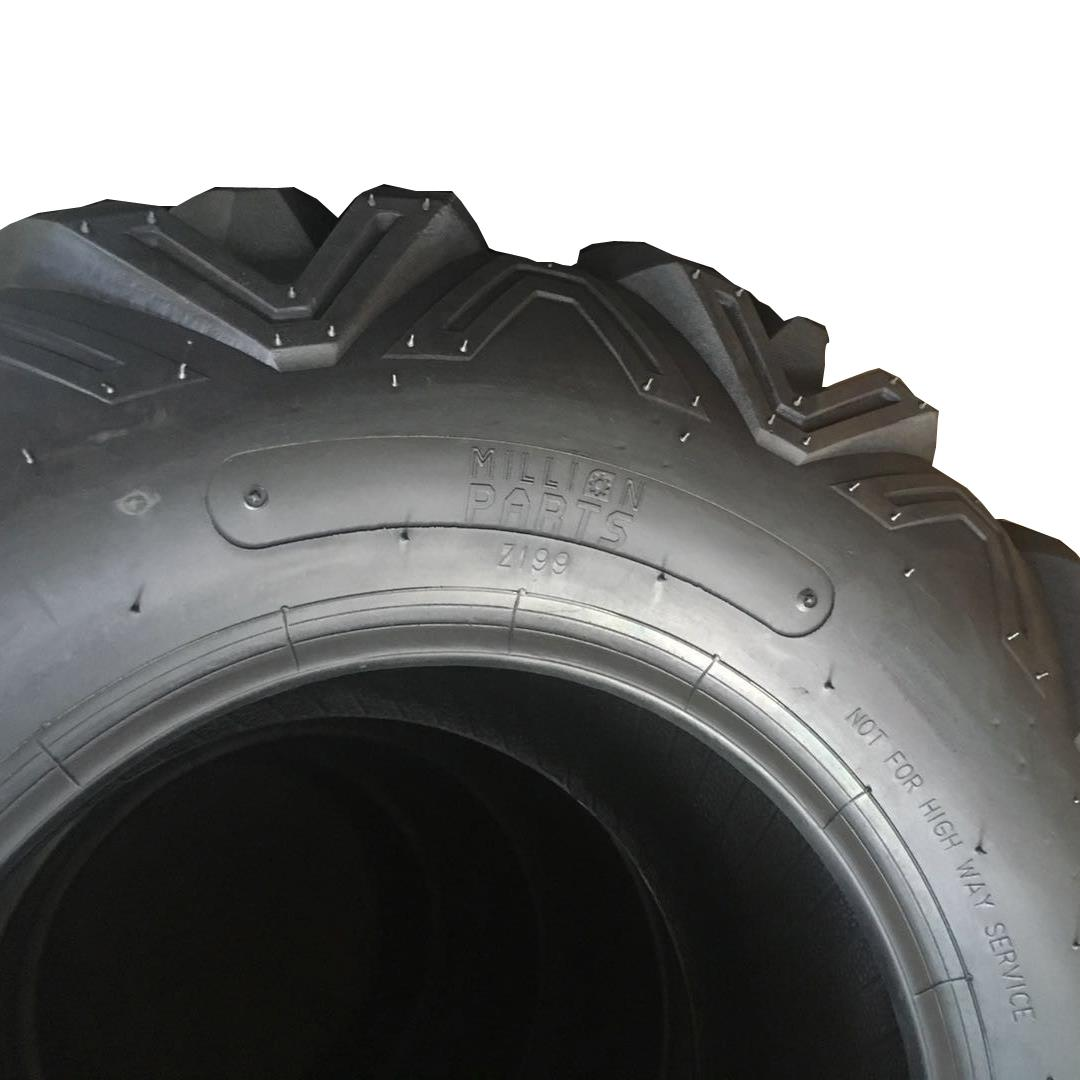 Left Right Rear Rubber 2x REAR 25-10-12 ATV TWO TIRES 25x10x12 25 10 12 2