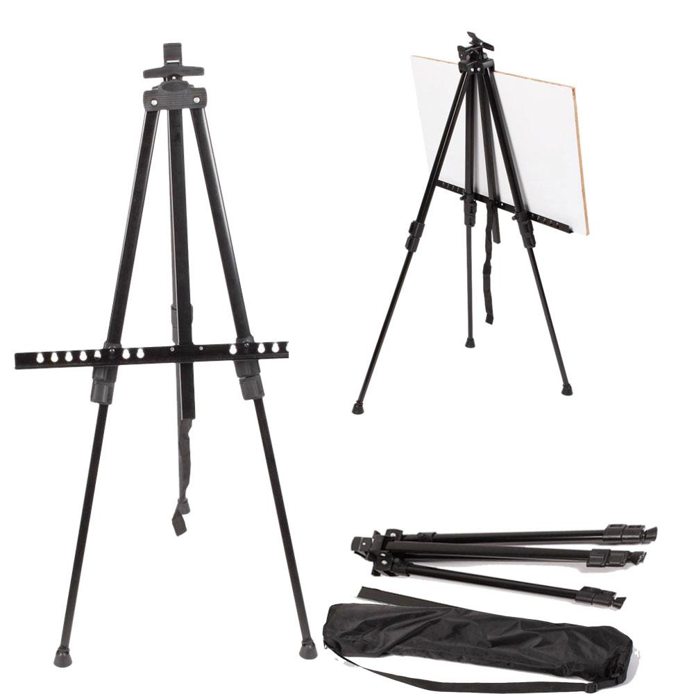 Folding Artist Painter Telescopic Studio Easel Tripod Display Stand Art Supplies