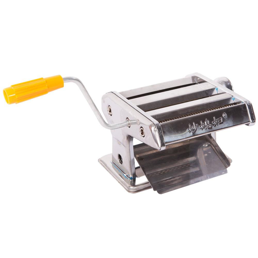 "150mm 6/"" Pasta Maker /& Roller Machine Noodle Spaghetti Maker Dual-Blade Silver"
