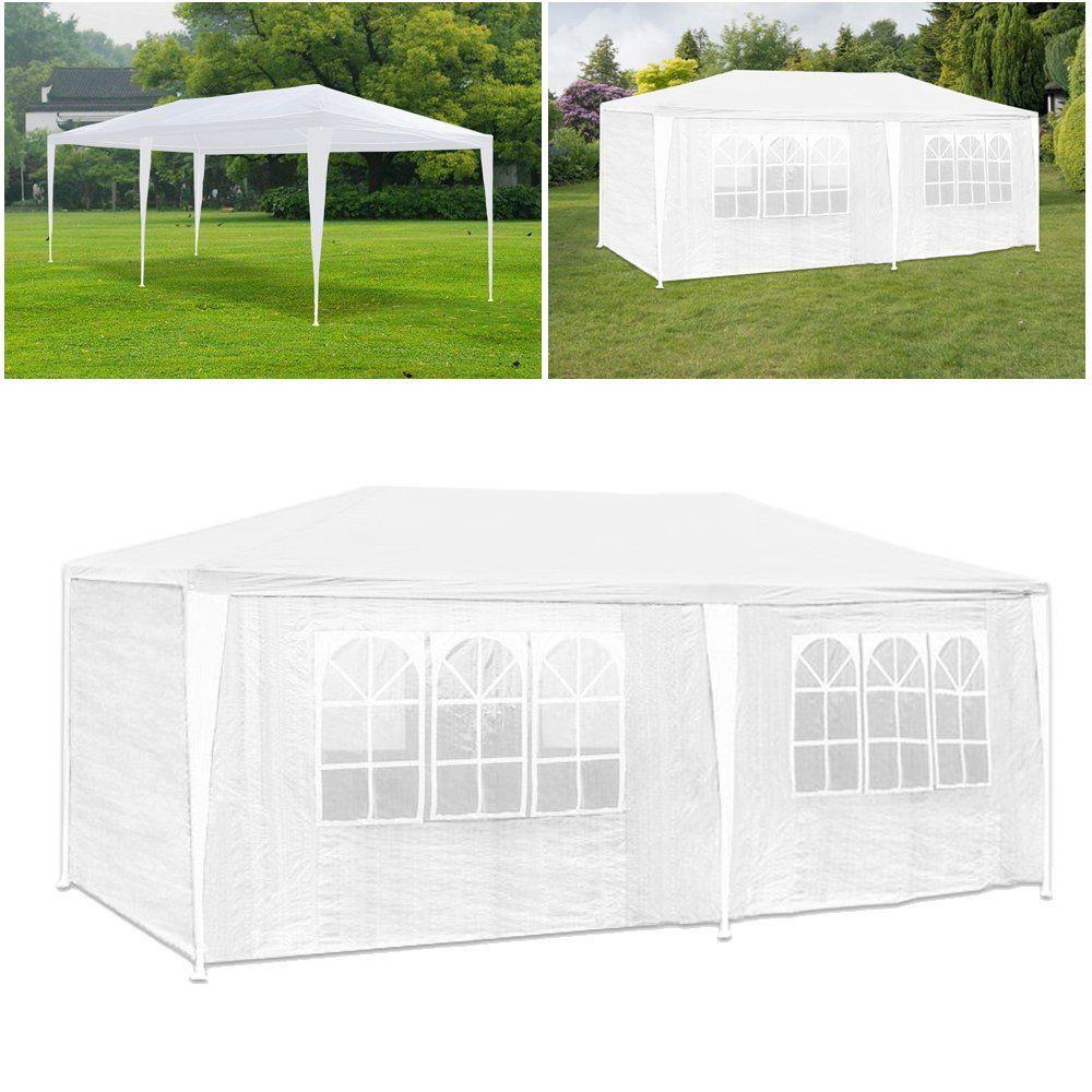 Waterproof Outdoor Steel Frame 10/'X20/' Canopy Tent w// PE Joint Fittings