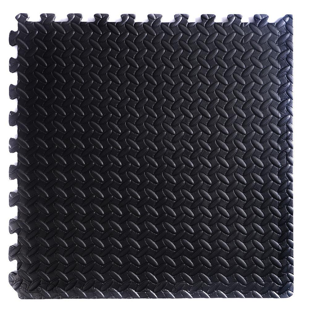 Cartener 54 Tiles Interlocking Floor Mat Flooring Gym Playground 216 Sq Ft