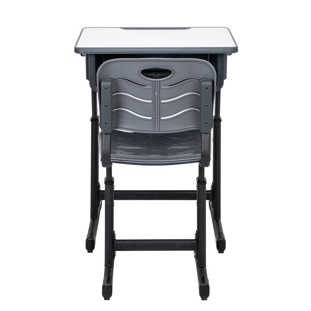 Details about NEW Student Desk Chair Set Adjustable Height Elementary High  School Grade