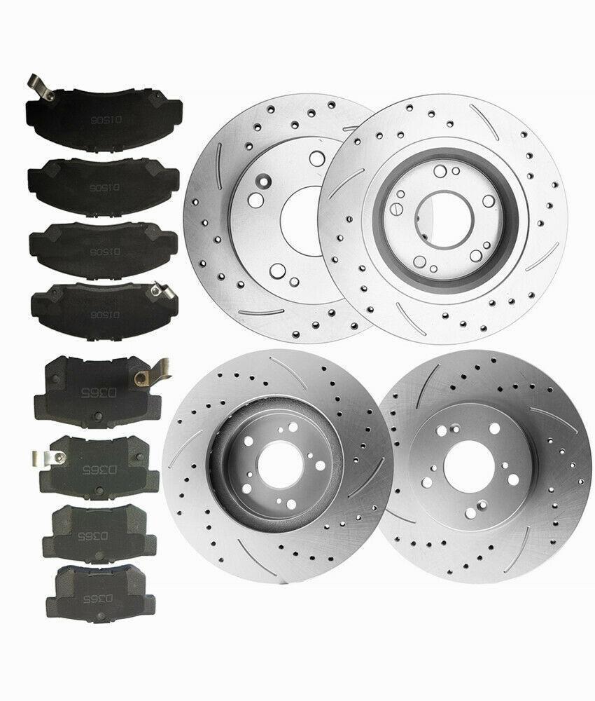 Acura TL 3.2 99 00 01 02 03 D//S Brake Rotors Front