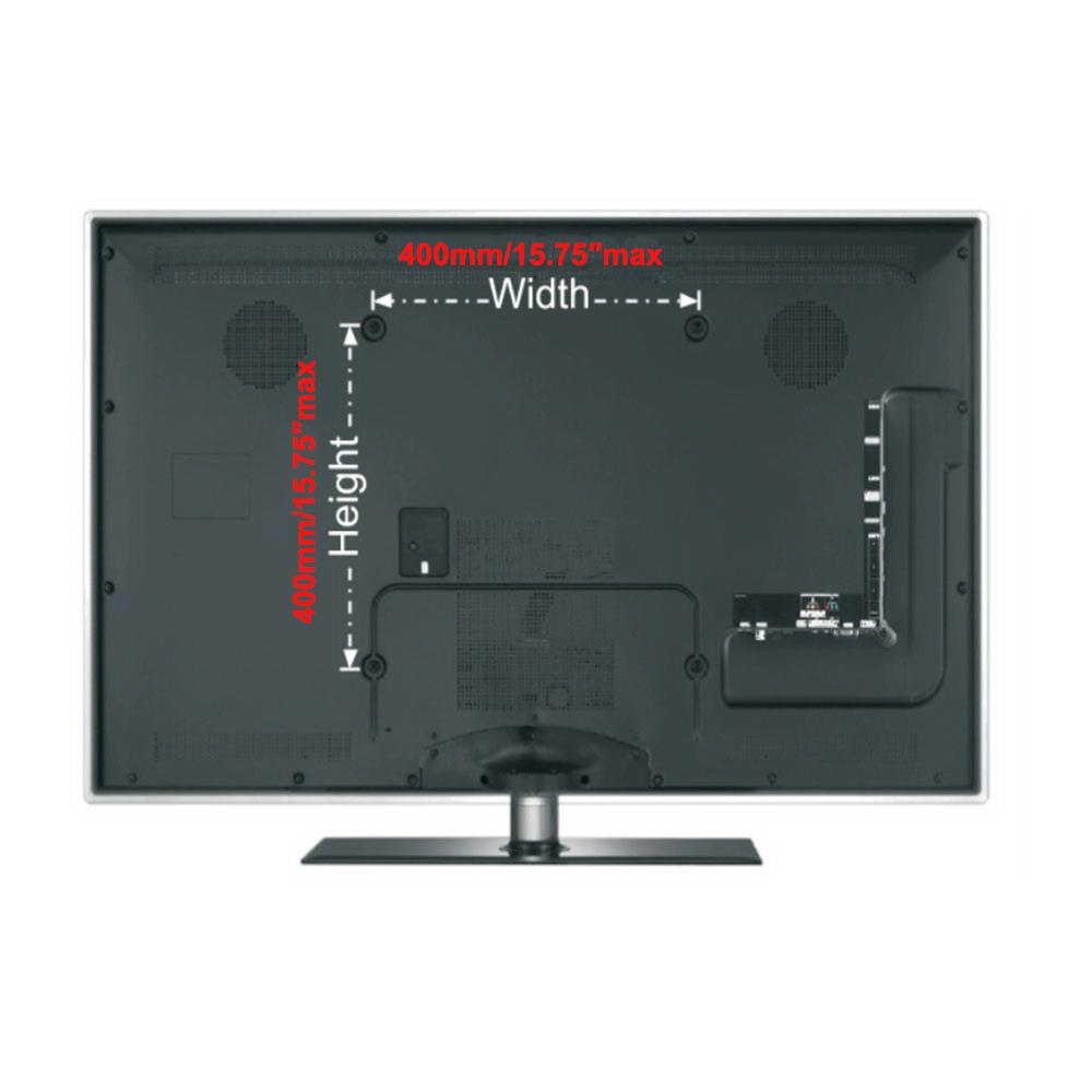 Fixed LED LCD Plasma TV Wall Mount Bracket 32 36 37 39 40 42 46 48 50 52 55 inch