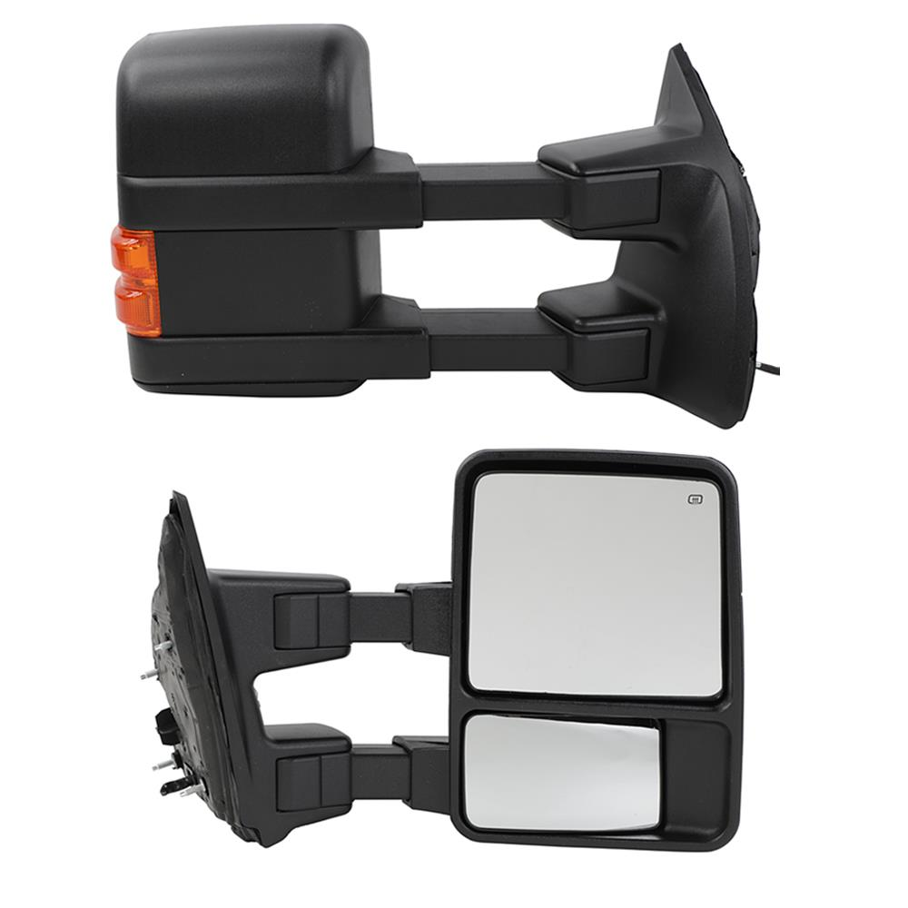 99-02 Ford F250-F550 Super Duty DRIVER LH Side Mirror Power Heated Towing Mirror
