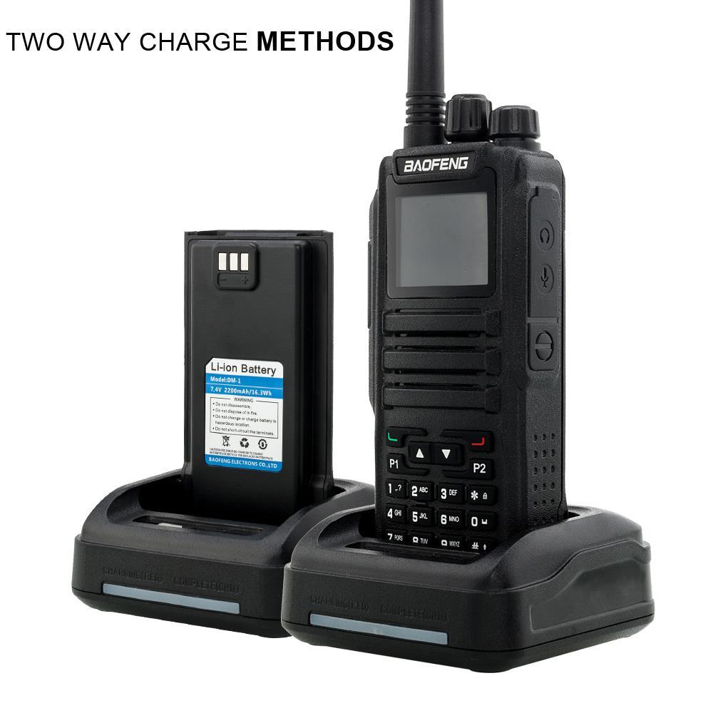 Baofeng DM-1701 DMR Tier II Digital Two Way Radio 3000 Channels 5W Walkie Talkie