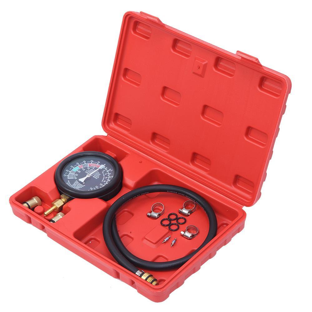 Exhaust Back Pressure Tester Set Pressure 2.5/'/' Diameter Gauge Sensor Car Kit