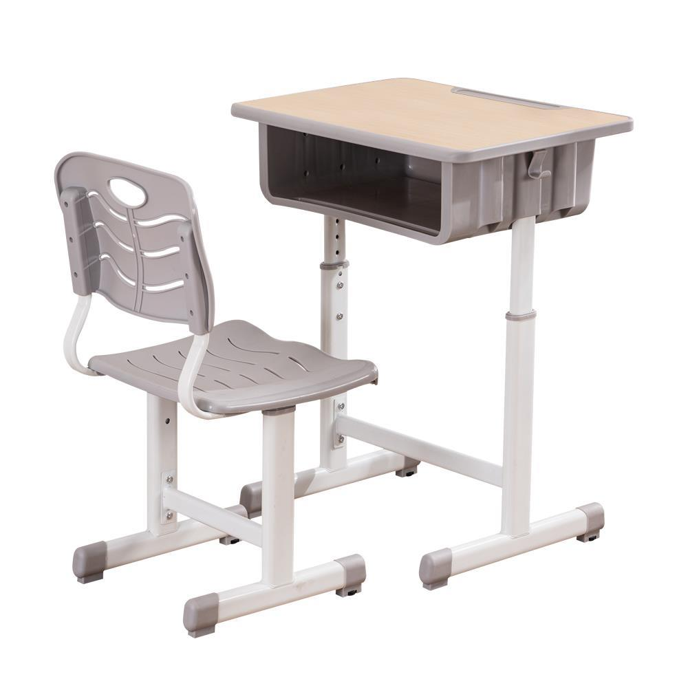 Details about Adjustable High School Student Desk Chair Set Child Study  Furniture Storage NEW