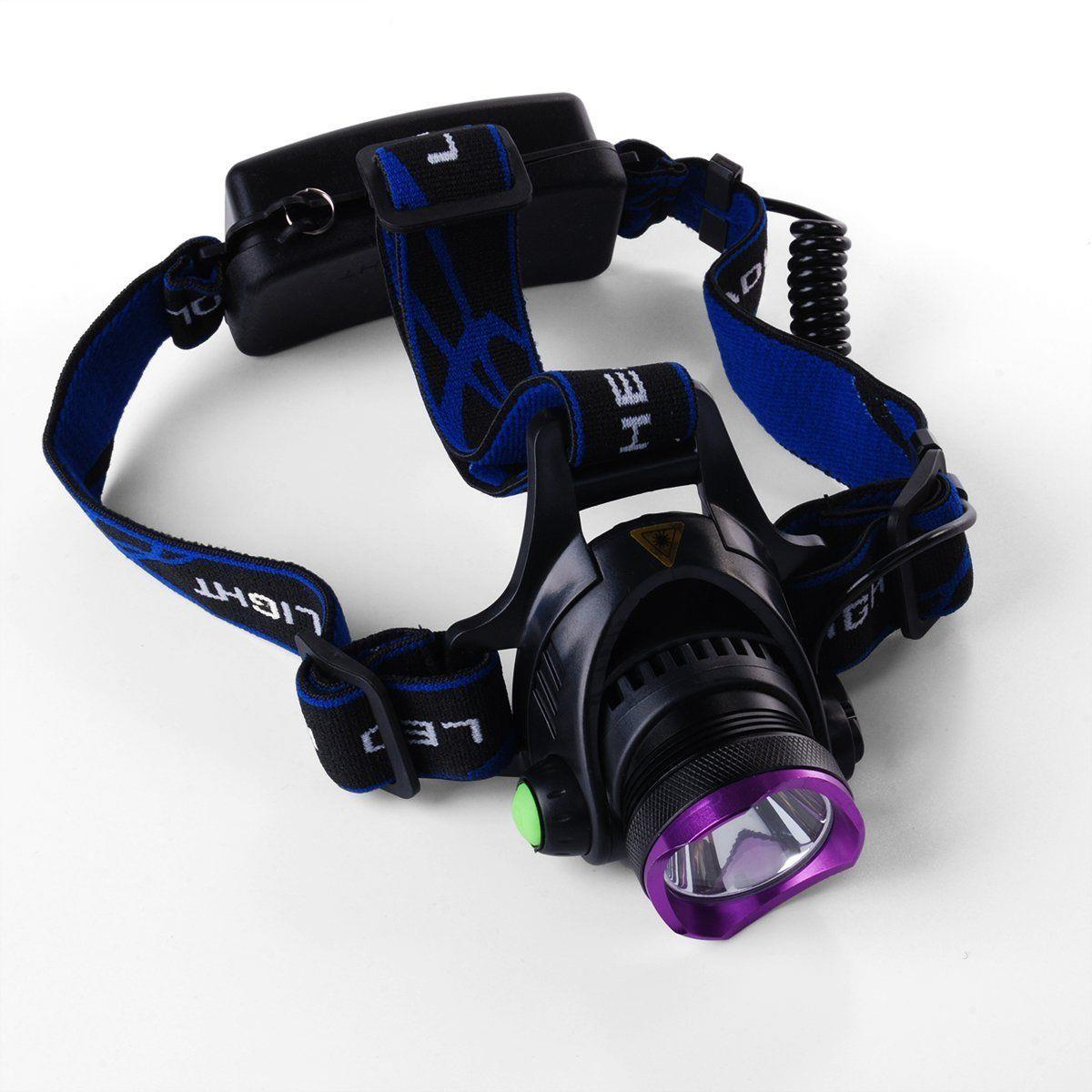 Charger US 5PCS 5000LM LED Headlamp Head Light Torch w// 2x18650 Battery