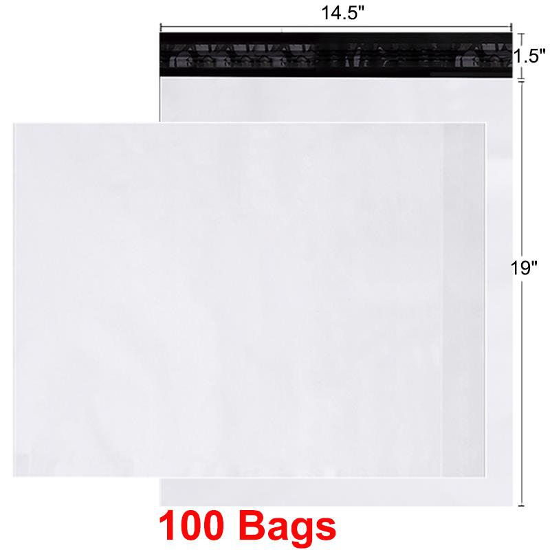 """200 14.5x19 Poly Mailers Bag Self Seal Shipping Envelopes 14.5/"""" x 19/"""""""